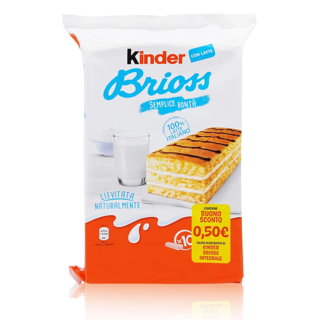 Kinder Brioss Al Latte/ Frühstückskuchen